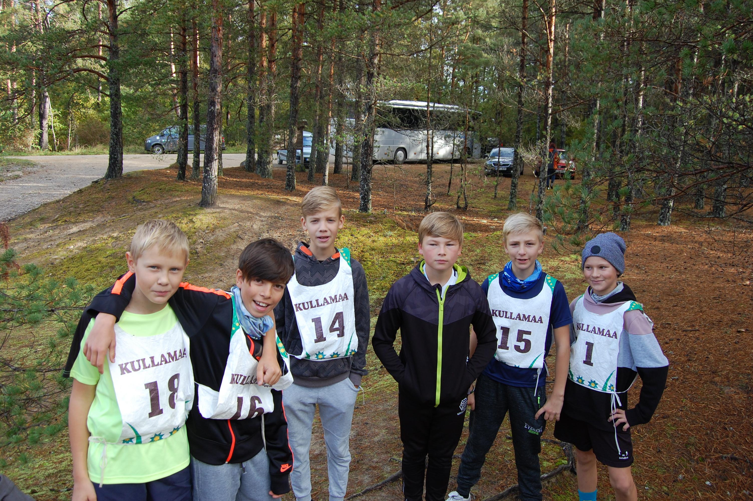 Kullamaa murdmaajooksu võistlused 2018